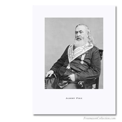 Albert Pike, Sovereign Commander  Scottish Rite