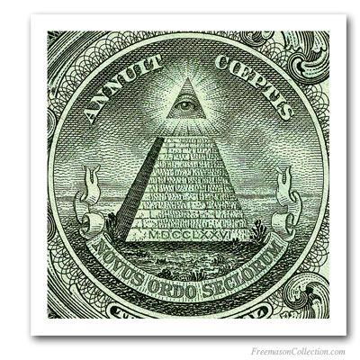masonic symbols dollar
