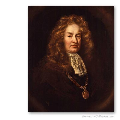 Elias Ashmole. First recorded english Freemason. Masones Famosos. Masonería